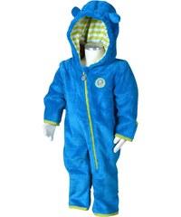Bugga Chlapecký fleecový overal - modrý