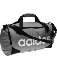 Cestovní taška adidas Linear Team Medium šedá