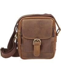 Lagen Pánská kožená taška Brown 3016/V