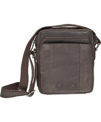 Lagen Kožená tmavě hnědá taška 1418 Dark Brown
