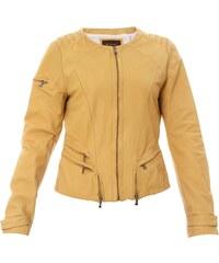 Mac Douglas Janet - Veste - en cuir jaune