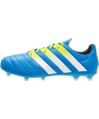 adidas Performance ACE 16.2 FG/AG Chaussures de foot à crampons shock blue/white/semi solar slime