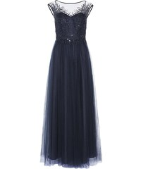 Apart Robe de cocktail dark blue