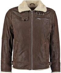 Jofama AXEL Veste en cuir dark brown