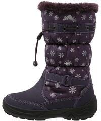 LICO AMBER Bottes de neige lila/silber