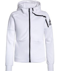adidas Performance Sweat zippé white/black
