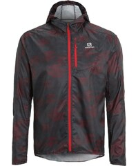 Salomon FAST WING Veste de running black/briquex/dark cloud
