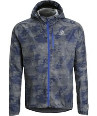 Salomon FAST WING Veste de running dove grey/dark cloud/blue yonder