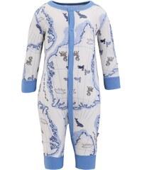 Joha Pyjama light blue/offwhite