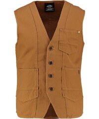 Dickies GRASS CREEK Veste sans manches brown duck