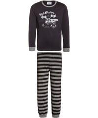 Gelati Kidswear Pyjama dunkelgrau/grau melange