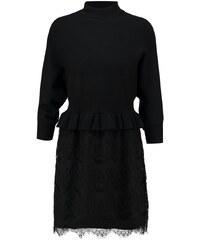 Navy London LARA Robe pull black
