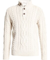 GAP CABLE MOCK Pullover oatmeal frost