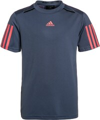 adidas Performance BARRICADE Tshirt imprimé tech ink/flash red