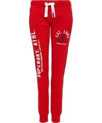 Superdry Pantalon de survêtement rich scarlet