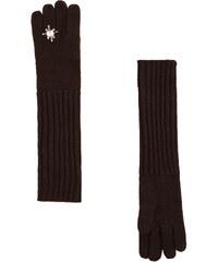 MANGO Lange Strickhandschuhe