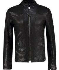 Tigha RUFES Veste en cuir black