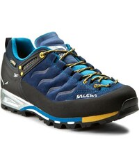Trekkingová obuv SALEWA - Ms Mtn Trainer Gtx 63412-0334 Navy/Nugget Gold