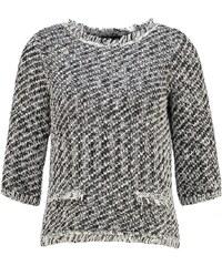 Karen Millen Pullover black/white