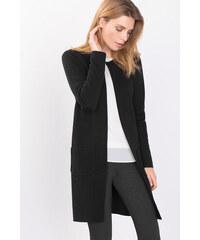 Esprit Kabát z jemné pleteniny ze směsi vlny