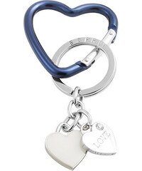 Esprit Porte-clés à deux breloques cœurs