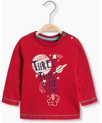 Esprit Bavlněné tričko s dl. rukávem, odpočítávání