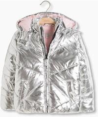 Esprit Metalická termo bunda s flísovou podšívkou