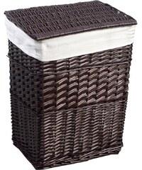 AQUALINE - Prádelní koš, 73l, hnědá (KF039)