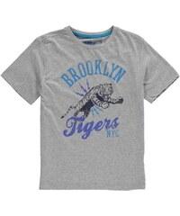 Tričko Giorgio Crew Tiger dět. popelavě šedá