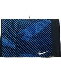 Ručník Nike Jacquard černá/modrá