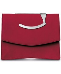 Gretchen Oyster Clutch - Royal Red
