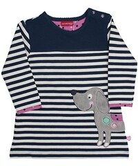 SALT AND PEPPER Baby-Mädchen Kleid B Dress Little Ones Stripe