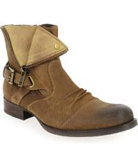 Boots Homme Kdopa en Cuir velours Camel