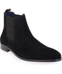 Boots Homme Brett and Sons en Cuir velours Bleu