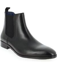 Boots Homme Brett and Sons en Cuir Noir