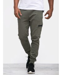 Urban Classics Athletic Interlock Sweatpants Olive TB1418