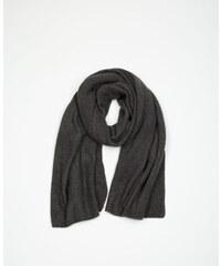 Echarpe tricot noir, Femme, Taille 00 -PIMKIE- MODE FEMME