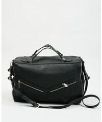 Grand sac rectangulaire noir, Femme, Taille 00 -PIMKIE- MODE FEMME