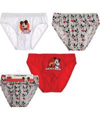 Lesara 3er-Set Kinder-Panty Micky Maus - 98