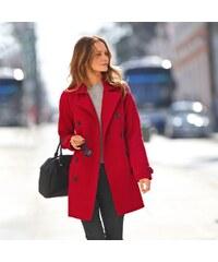 Blancheporte Dámský kabát červená 42