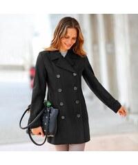 Blancheporte Dámský kabát černá 38