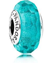 Pandora Tyrkysový skleněný korálek 791655