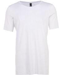 NEBO MATZ T-Shirt mit Ziernähten in Weiß