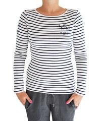 Tričko Soccx SPI-1607-3378 pruhované