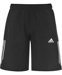 Sportovní kraťasy adidas 3 Stripe Chelsea pán. černá/bílá