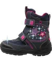 LICO Bottes de neige marine/pink