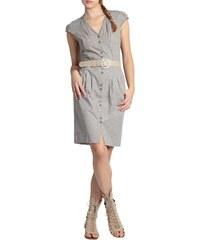 Chattawak Kleid Tunika - grau