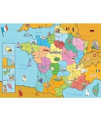 Ravensburger Carte de France - Puzzle - multicolore