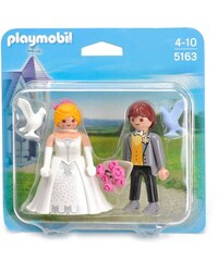 Playmobil Duo couple de mariés - Figurine - multicolore