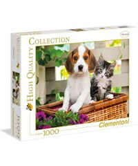 Clementoni The dog and the cat - Puzzle - multicolore